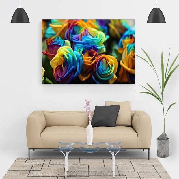 Diamond Painting - Bunte Rosen