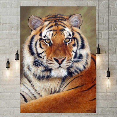 Diamond Painting - Tiger 2
