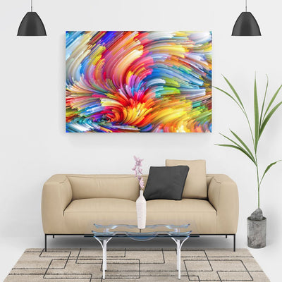 XXL - Diamond Painting - Bunte Wolke