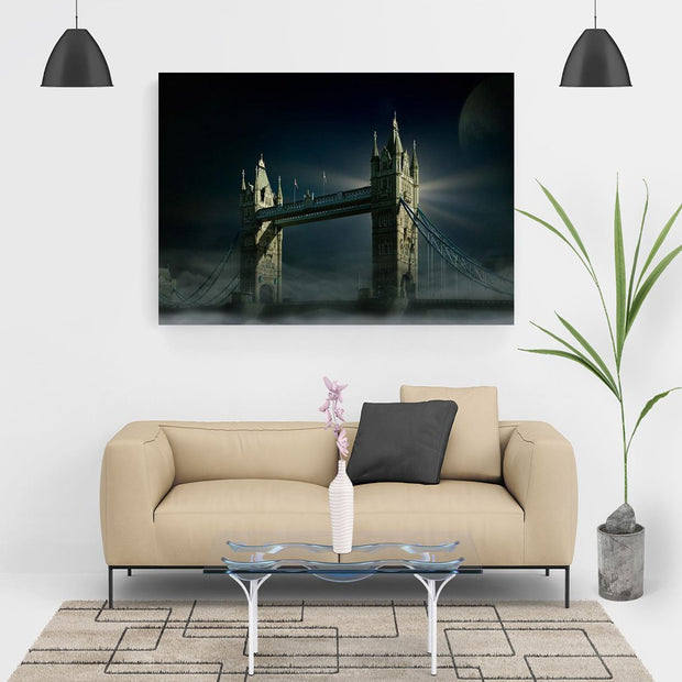 Diamond Painting - Tower Bridge in der Nacht