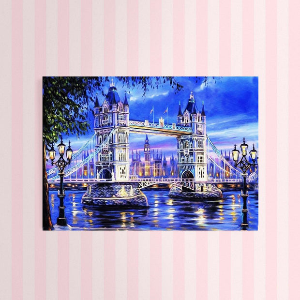 XXL - Diamond Painting - Tower Bridge