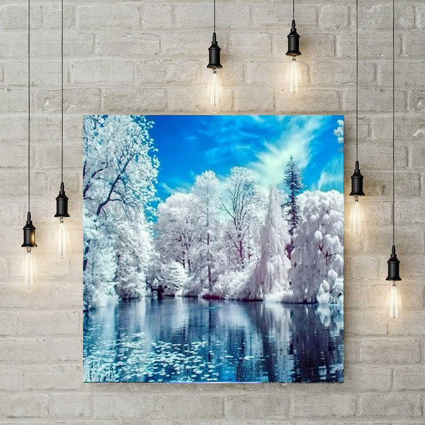 XXL - Diamond Painting - Winterlandschaft