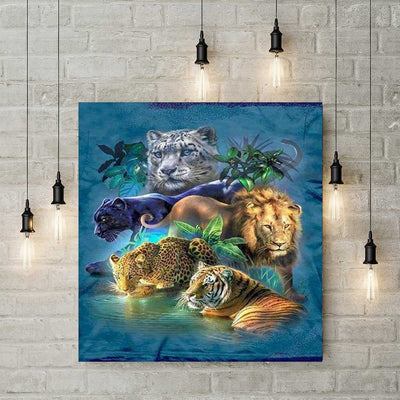 Diamond Painting - Tiere