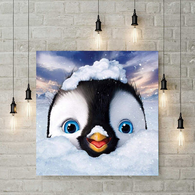 Diamond Painting - Pinguin