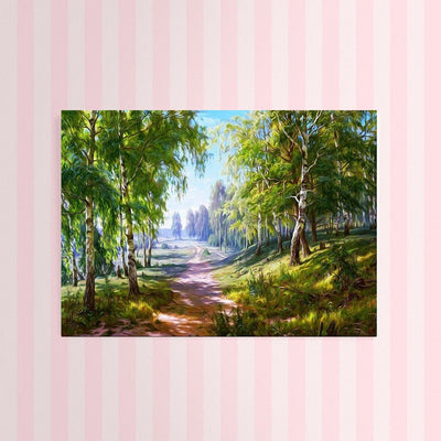 Diamond Painting - Birkenwald