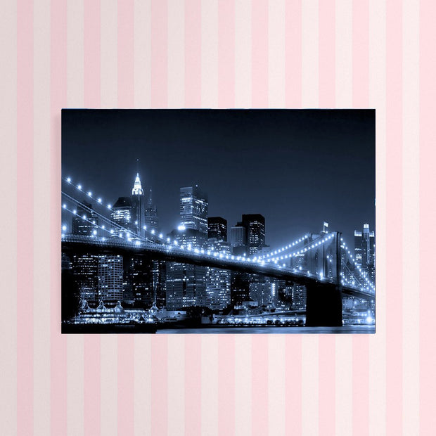 Diamond Painting - Brooklyn Bridge Schwarz Weiss