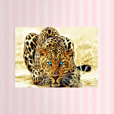 Diamond Painting - Leopard