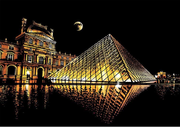 Scratch Painting - Louvre