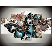 "Diamond Painting - Multi-Bild ""Schmetterling"""