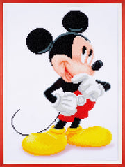 Diamond Painting Teilbild - Disney Mickey Maus - 43x31 cm