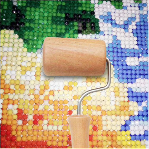 Diamond Painting - Holzrolle