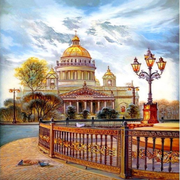 XXL - Diamond Painting - Cathedral Scenic