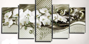 Diamond Painting - Multi-Bild Orchidee
