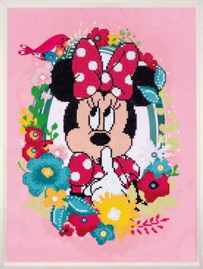 Diamond Painting Teilbild - Disney Minnie Maus PSST