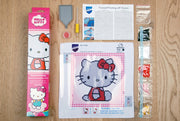 Diamond Painting Teilbild - Hello Kitty