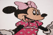 Diamond Painting Teilbild - Disney Minnie Maus - 35x42 cm