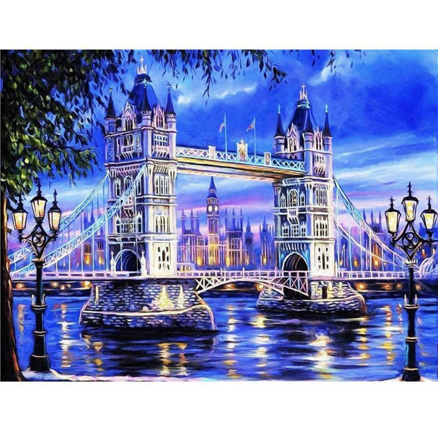 Diamond Painting - Tower Bridge