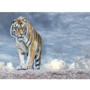 Diamond Painting - Allein Tiger