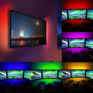Color changing led light strip wavy trend color changing led light strip aloadofball Image collections