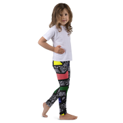 Kids- Grid Leggings
