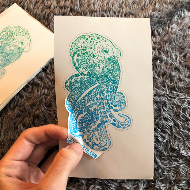 Sticker- Octodoodle