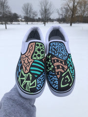*Custom Painted Shoes