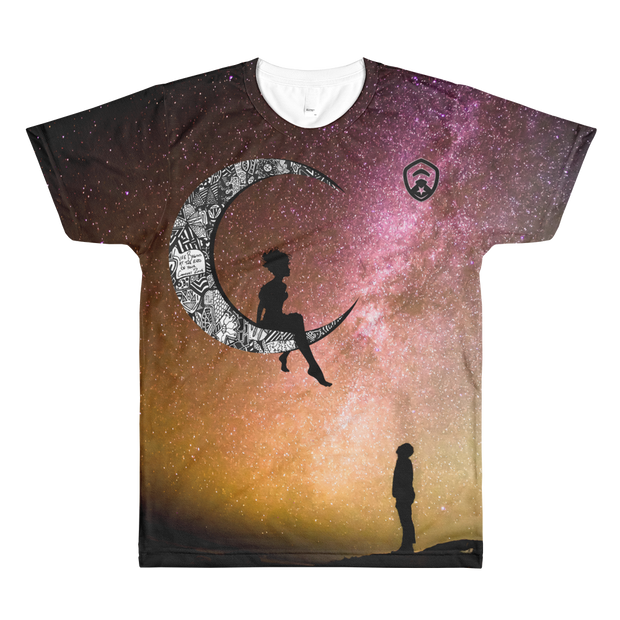 Moon All-Over T-Shirt