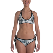 Moon & Tie Dye Reversible Bathing Suit