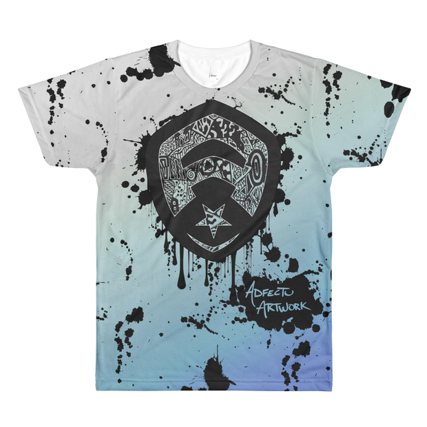 Ink Splat All-Over T-Shirt
