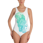 Octodoodle One Piece Bathing Suit