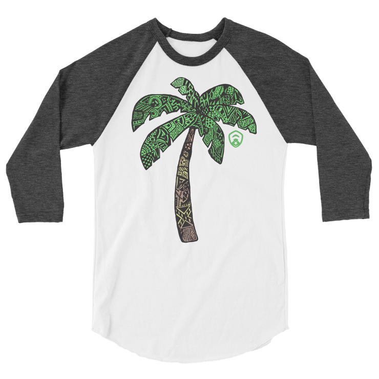 Palm Tree 3/4 Sleeve