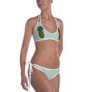 Pineapple & Anchor Reversible Bathing Suit