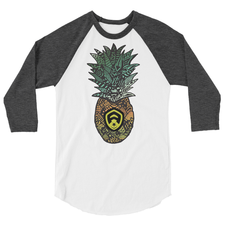Pineapple 3/4 Sleeve