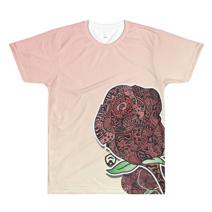 Rose All-Over T-Shirt
