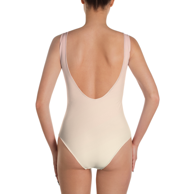 Rose One Piece Bathing Suit