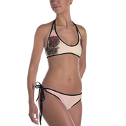 GRL PWR & Rose Reversible Bathing Suit