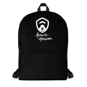 Simple Black Backpack