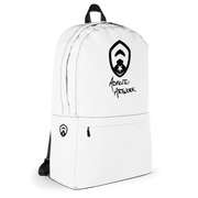 Simple White Backpack