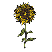 Sticker- Sunflower