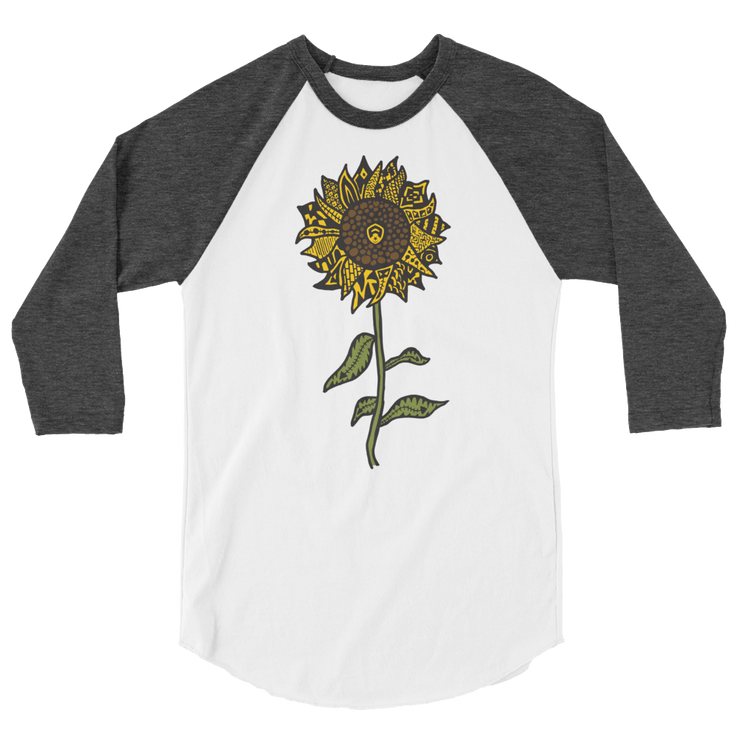 Sunflower 3/4 Sleeve