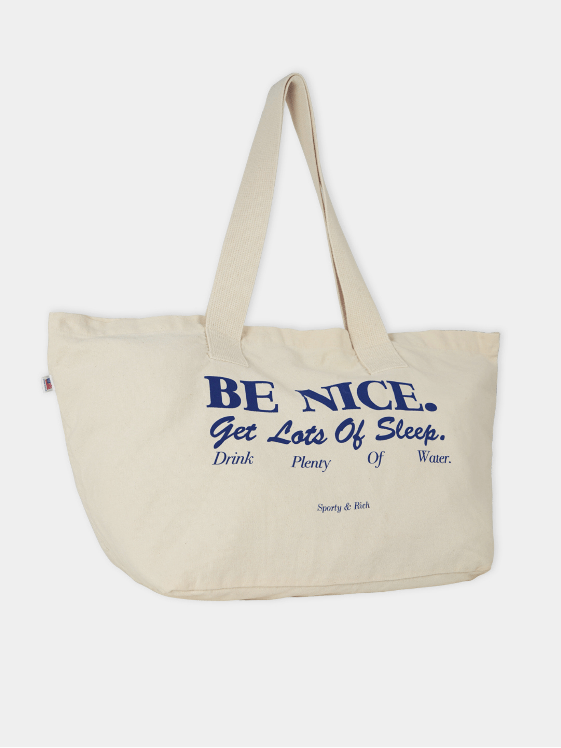 Be Nice Tote / Natural Womens Sporty & Rich