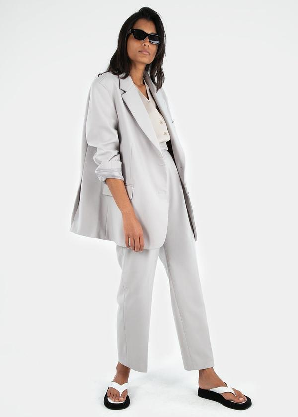 Bea Boxy Blazer / Grey Womens Frankie Shop