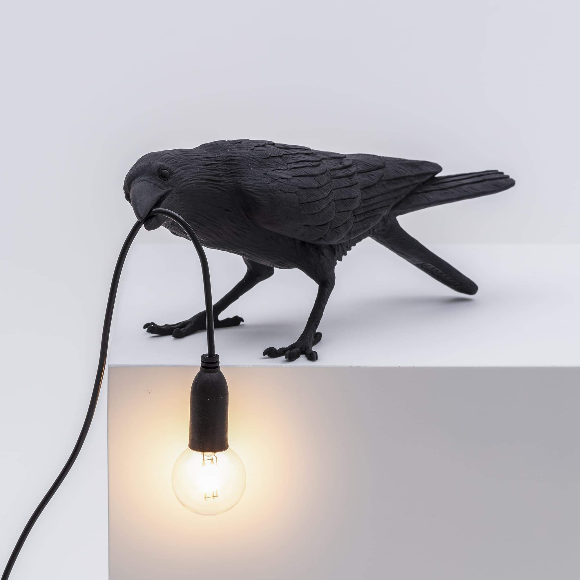 Bird Lamp Playing / Black Seletti Seletti