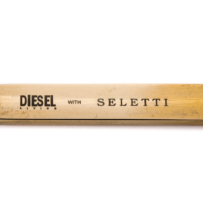 Cosmic Diner Lunar / Brass Stirrer Seletti Diesel living with Seletti
