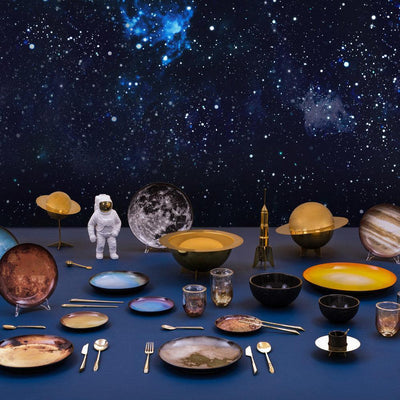 Cosmic Diner / Moon Plate Seletti Diesel living with Seletti
