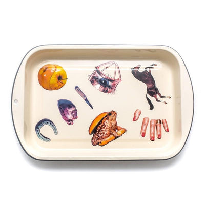 Enamel Baking Pan / Cream Seletti Seletti wears Toiletpaper
