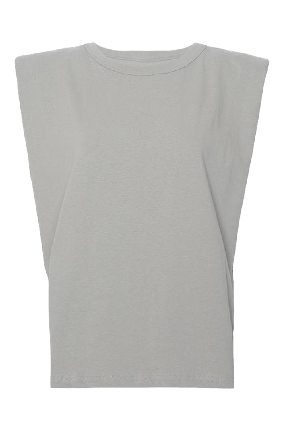 Eva Padded Shoulder Muscle T-shirt / Grey General Frankie Shop