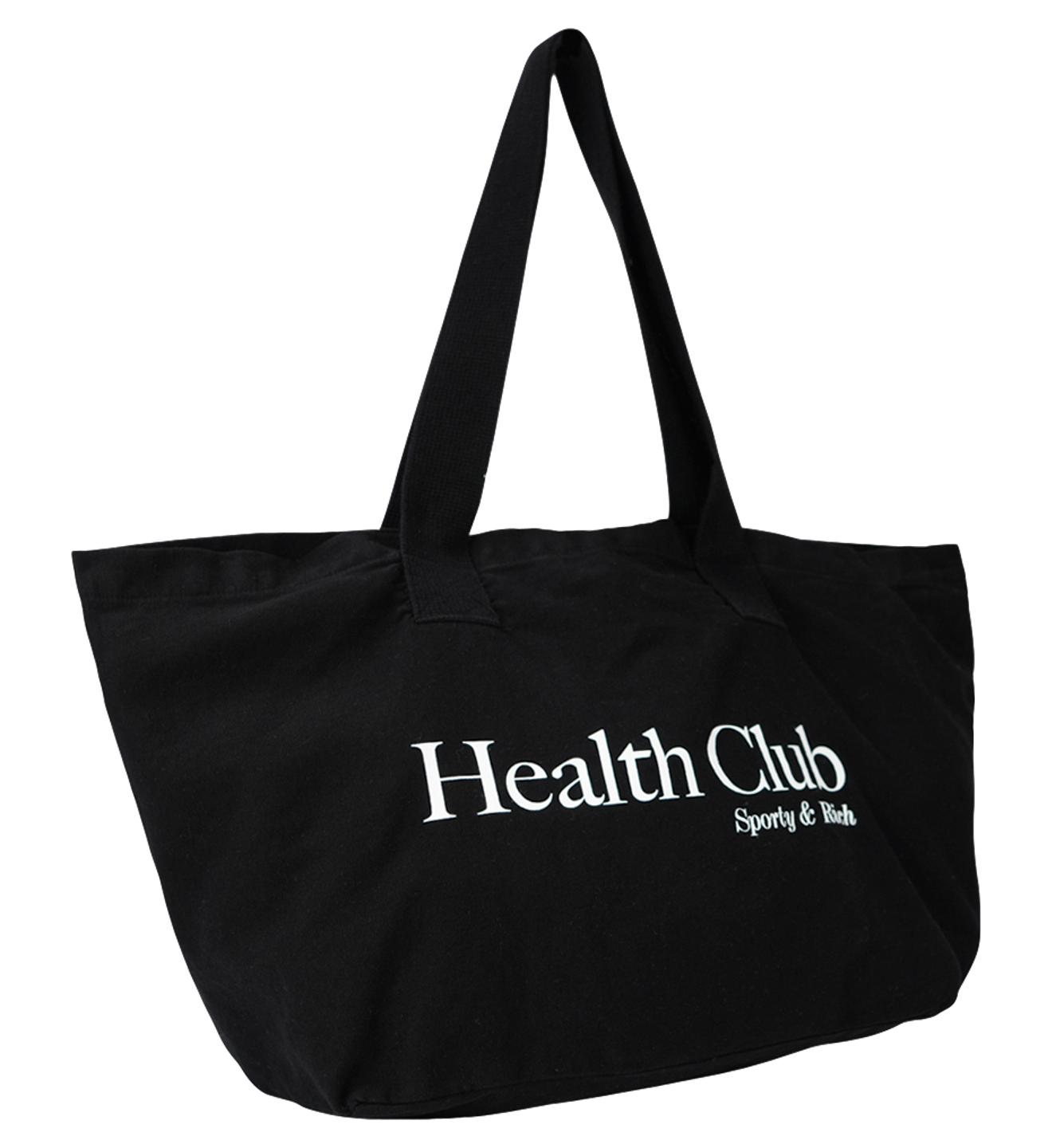 Health Club Tote / Black Womens Sporty & Rich