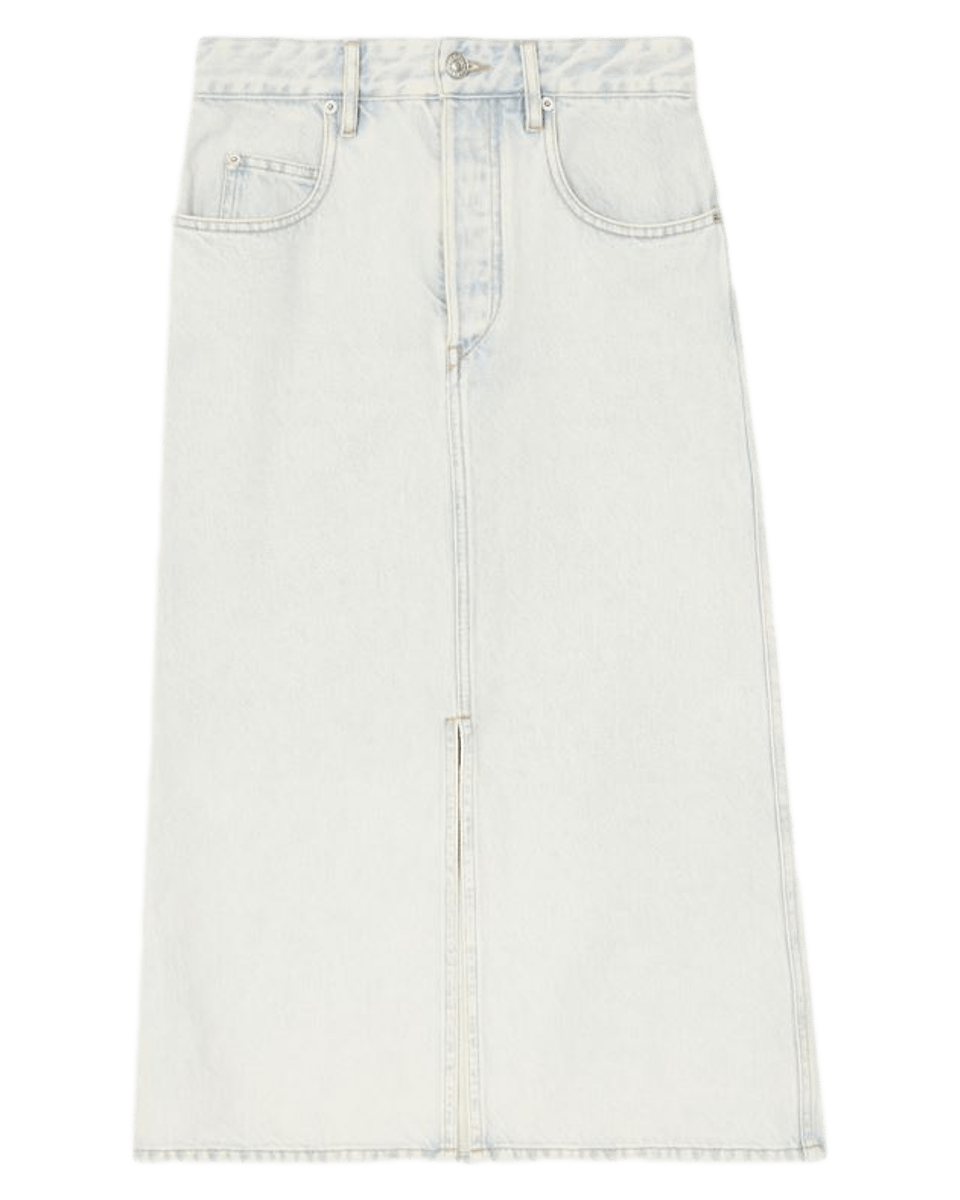 Laurina Skirt / Light Blue Womens Isabel Marant Étoile
