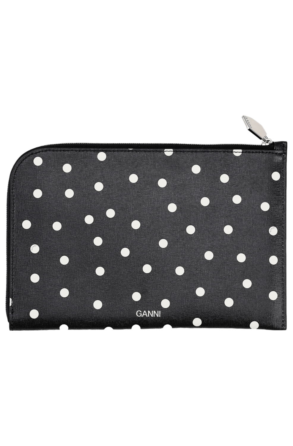 Leather Clutch / Sky Captain Womens Ganni